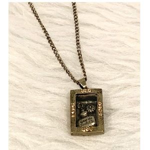 Long Shadow Box Necklace